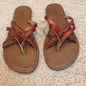 scrappy sandals from kohl's